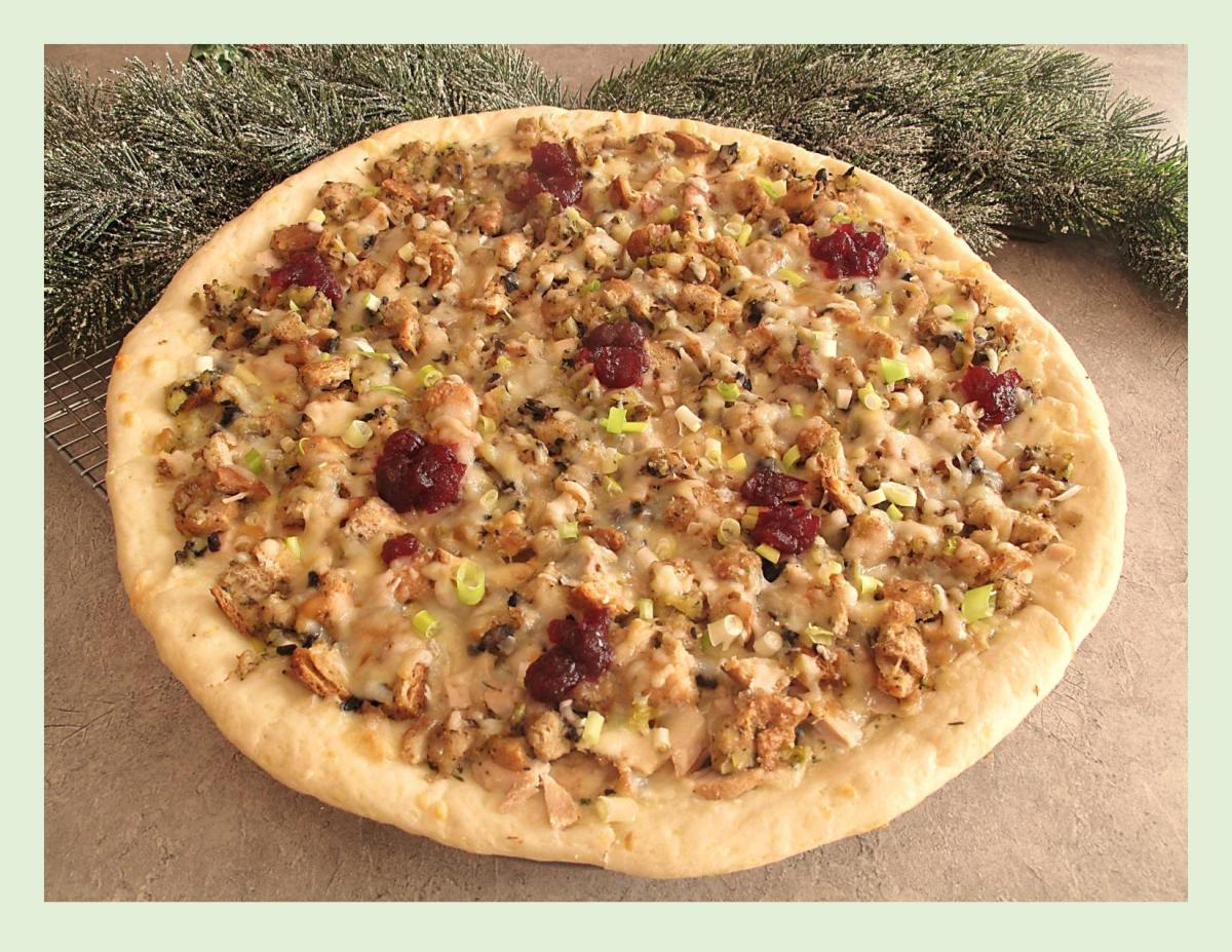 Christmas Turkey Pizza