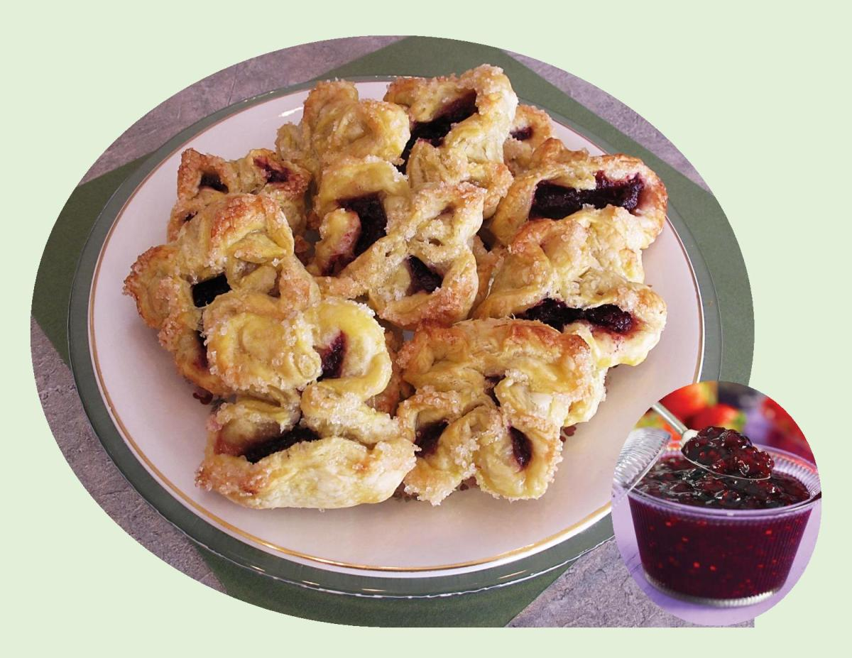 Bumbleberry Pastries