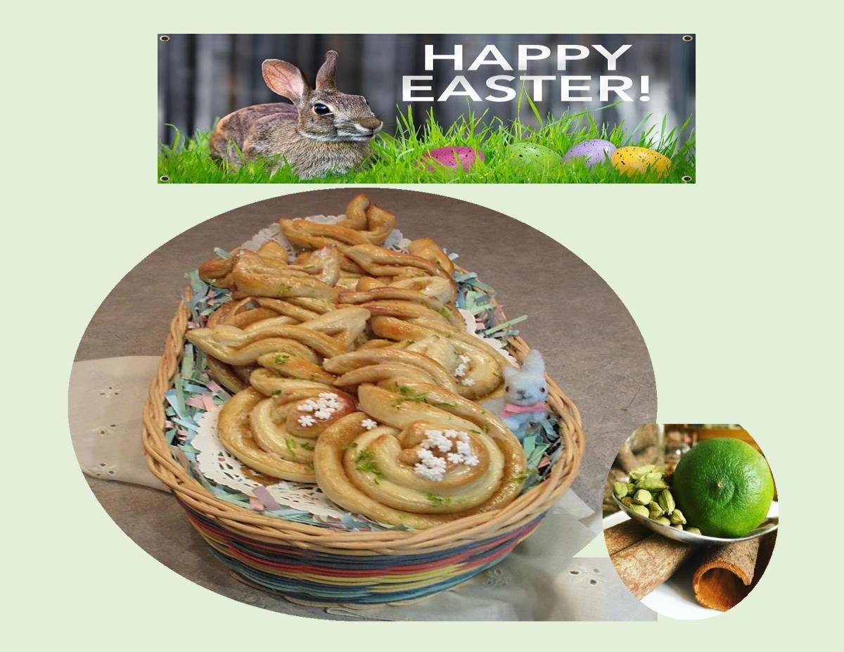 Cardamom Lime Easter 'Bunnies'