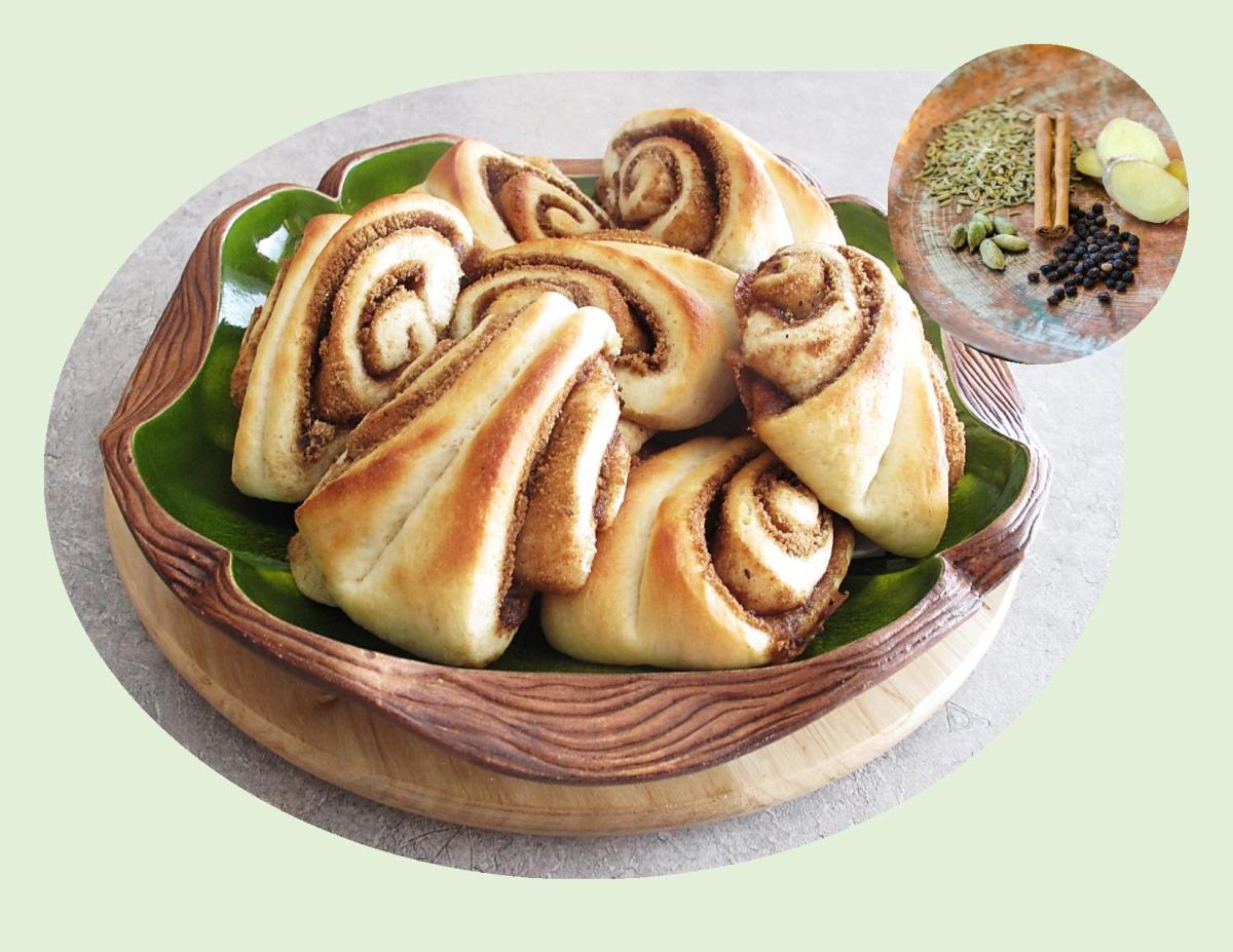 Chai Spiced Sweet Rolls