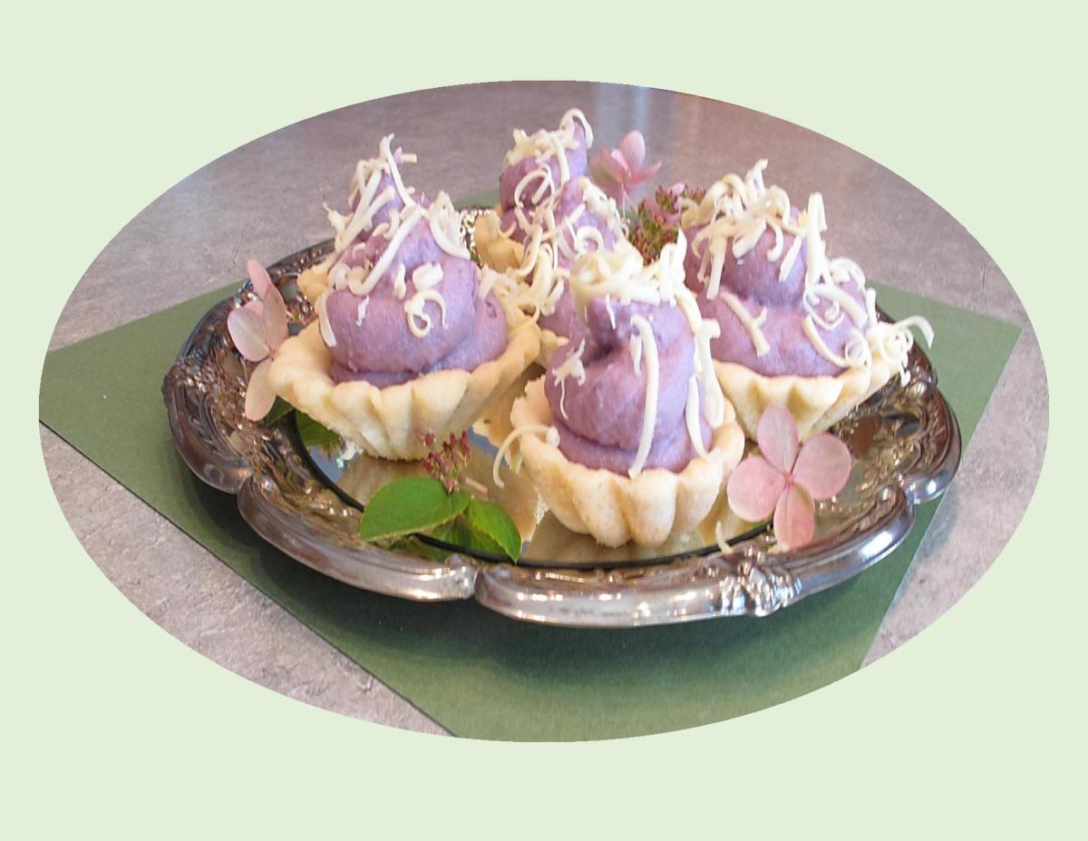 Purple Yam (Ube) Tarts