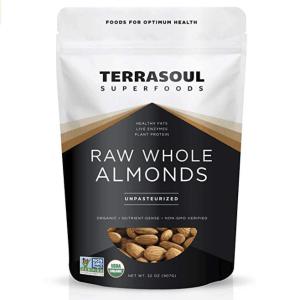 Terrasoul Raw Almonds