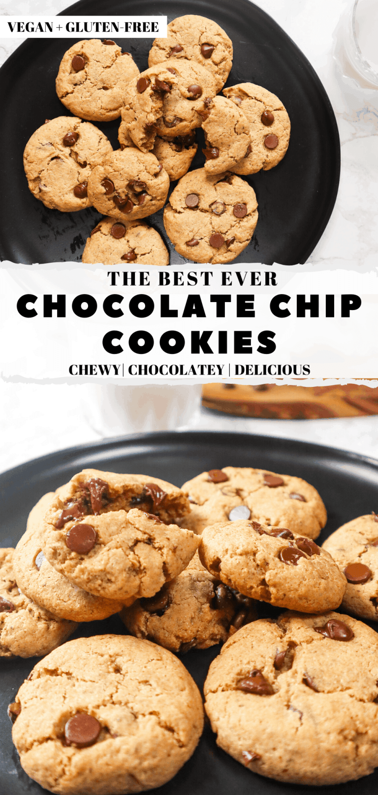 the best chocolate chip cookies vegan and gluten-free