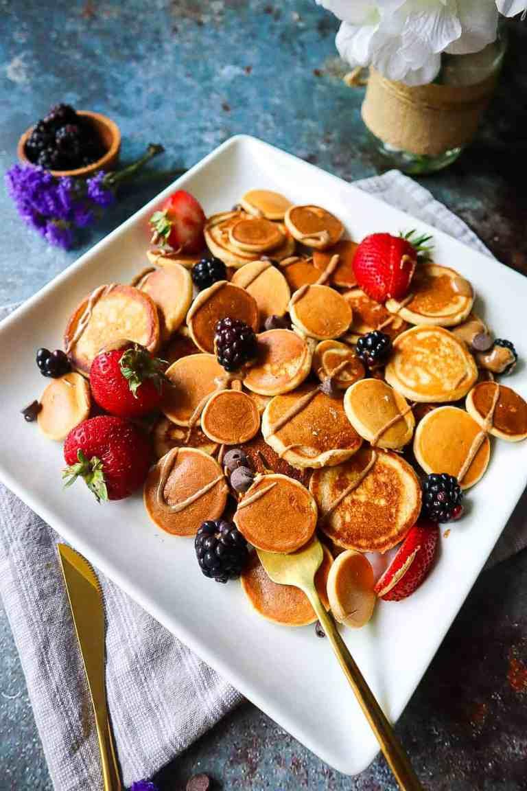 delicious apple cinnamon pancakes gluten free