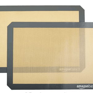 AmazonBasics Silicone, Non-Stick, Food Safe Baking Mat