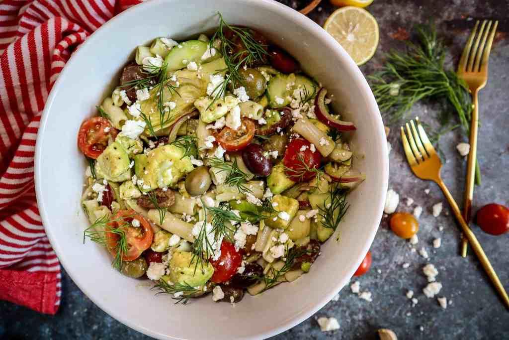 mediterranean pasta salad recipe gluten free