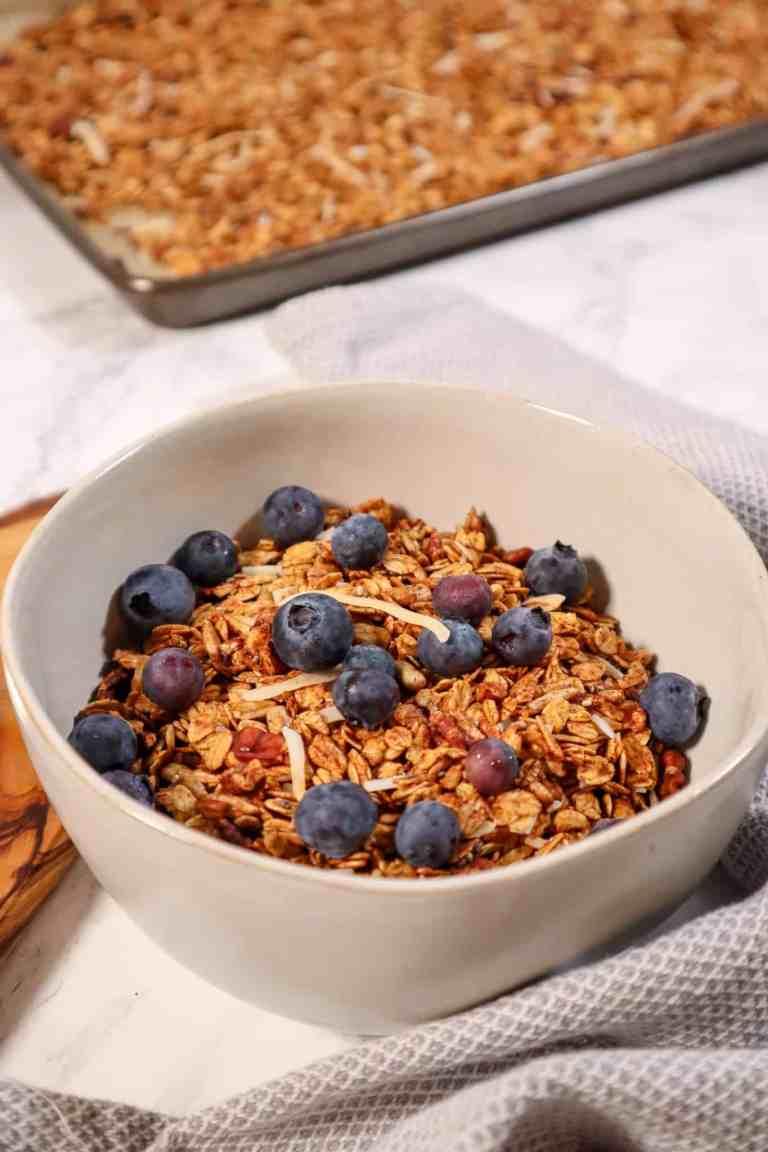 maple granola recipe