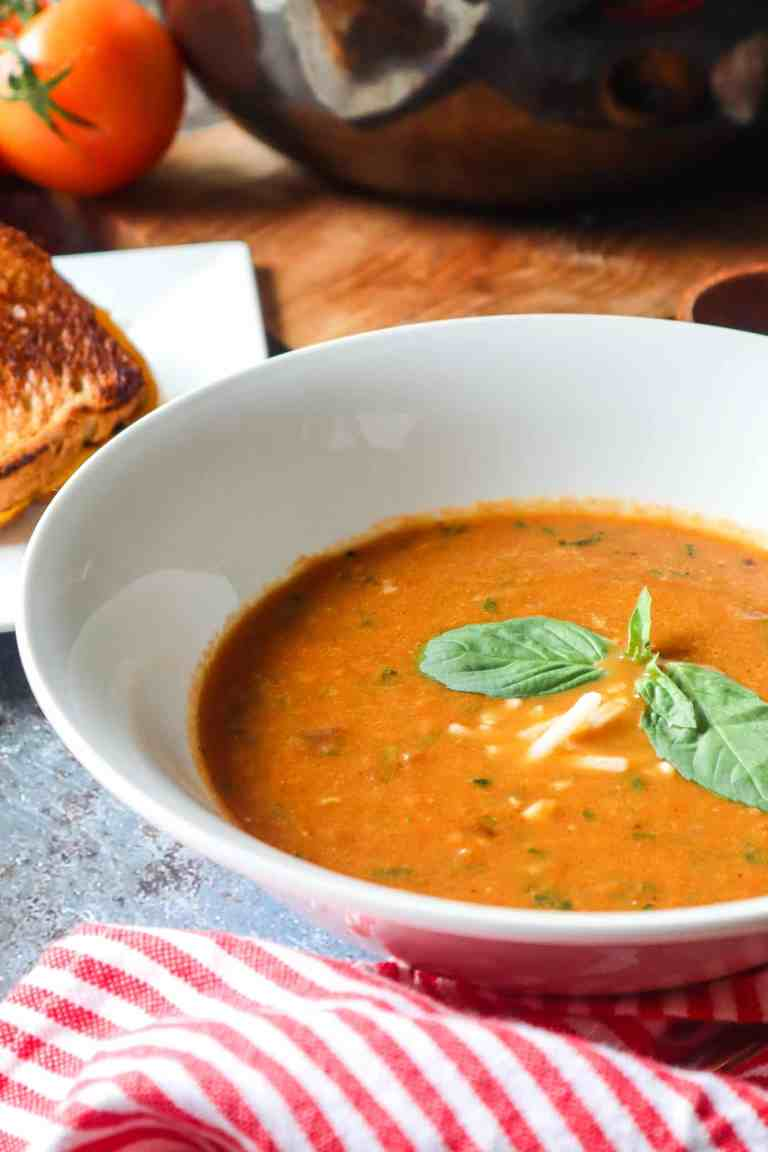 pinterest tomato basil soup