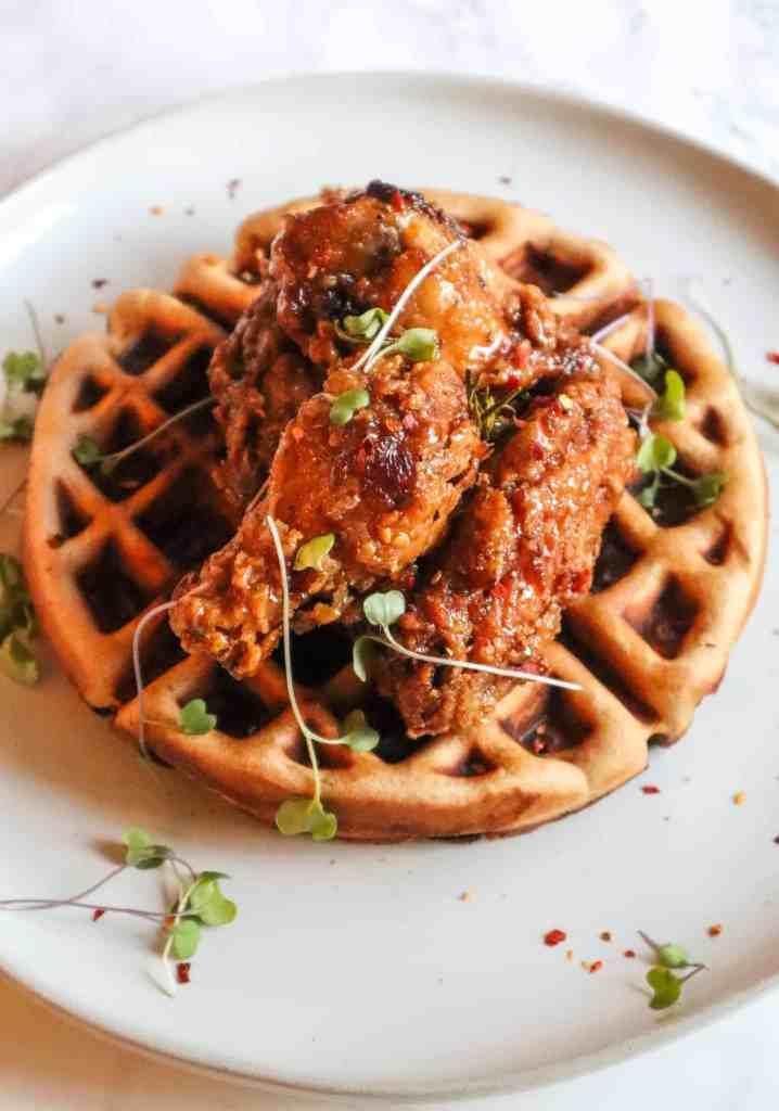 Gluten-Free chicken and waffles recipe