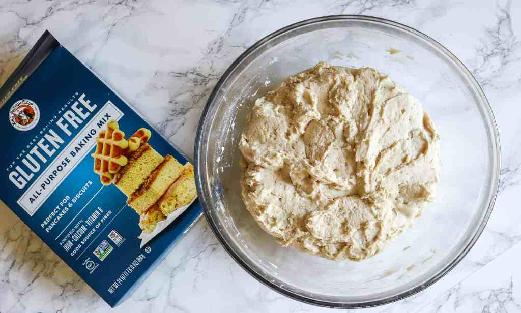 making focaccia bread with gluten free flour