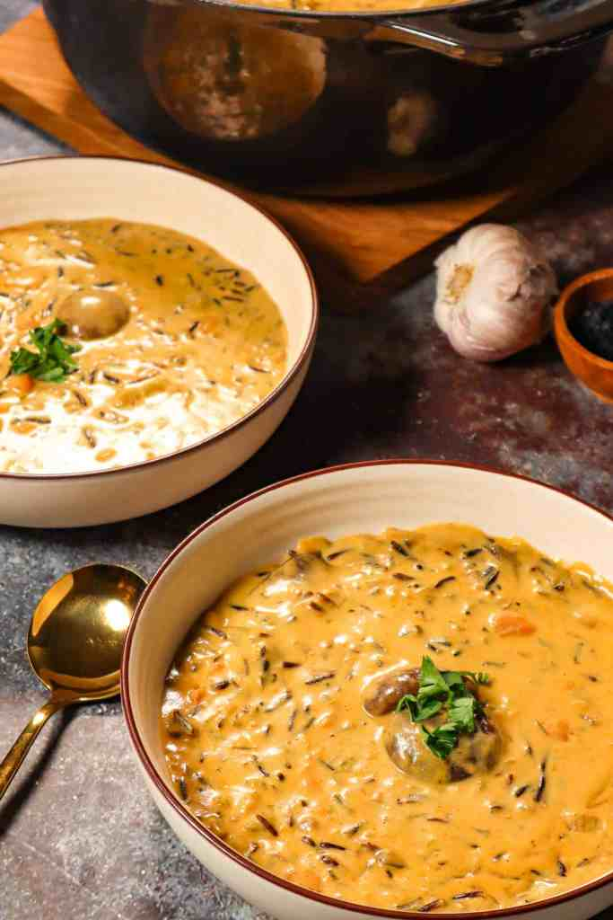 vegan wild rice soup gluten free