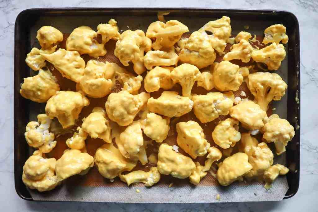 how to make crispy baked cauliflower wings