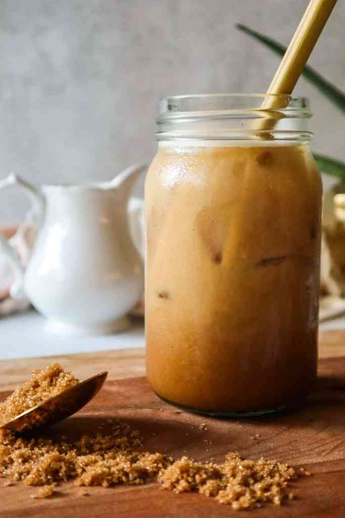 Iced Brown Sugar Oatmilk Shaken Espresso Vegan