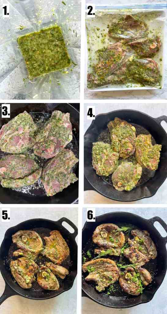 How to cook lamb chops