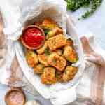 gluten free air fryer cauliflower tots recipe good food baddie