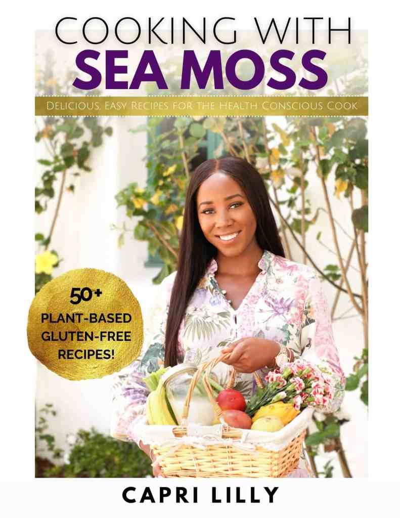 Cooking with Sea Moss Front Cover