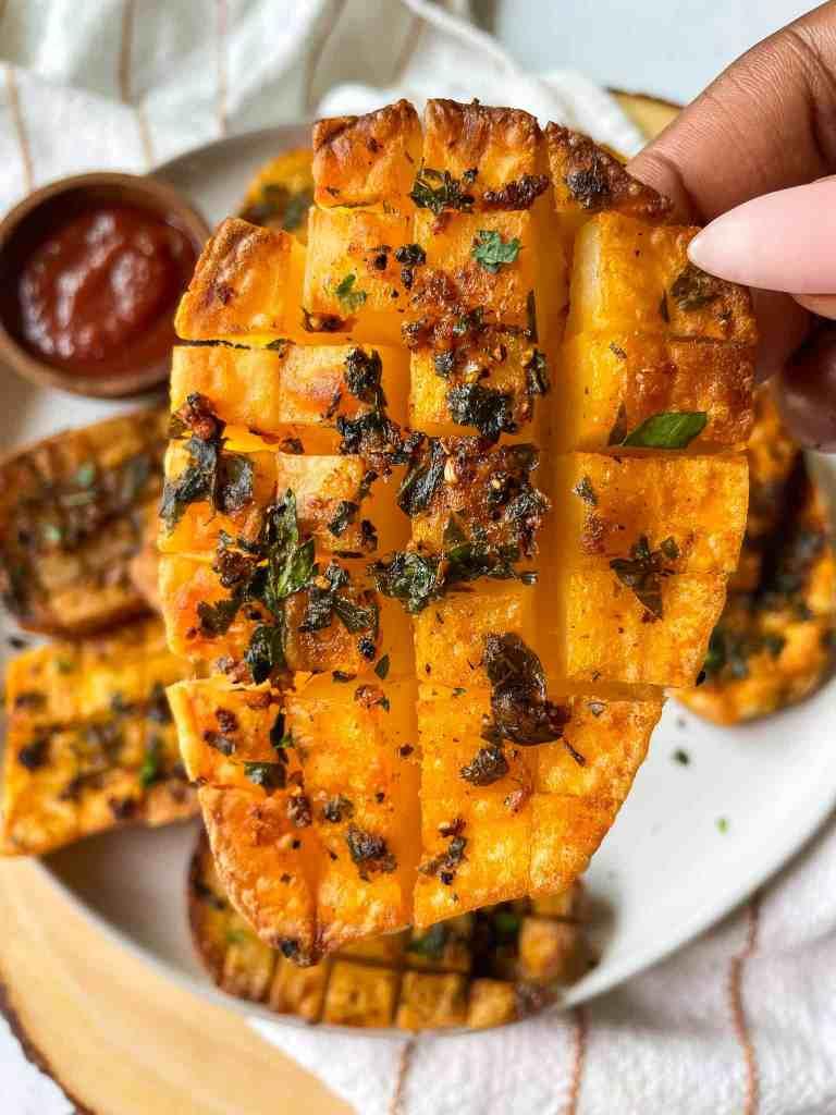 Hasselback Waffle Potatoes TikTok Trend