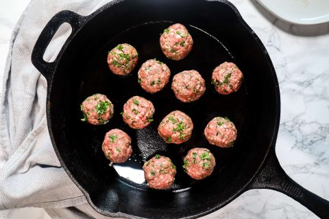 lamb meatballs for cooking