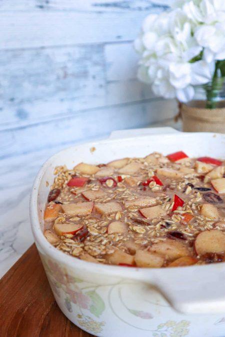 oatmeal before baking in oven gluten free vegan