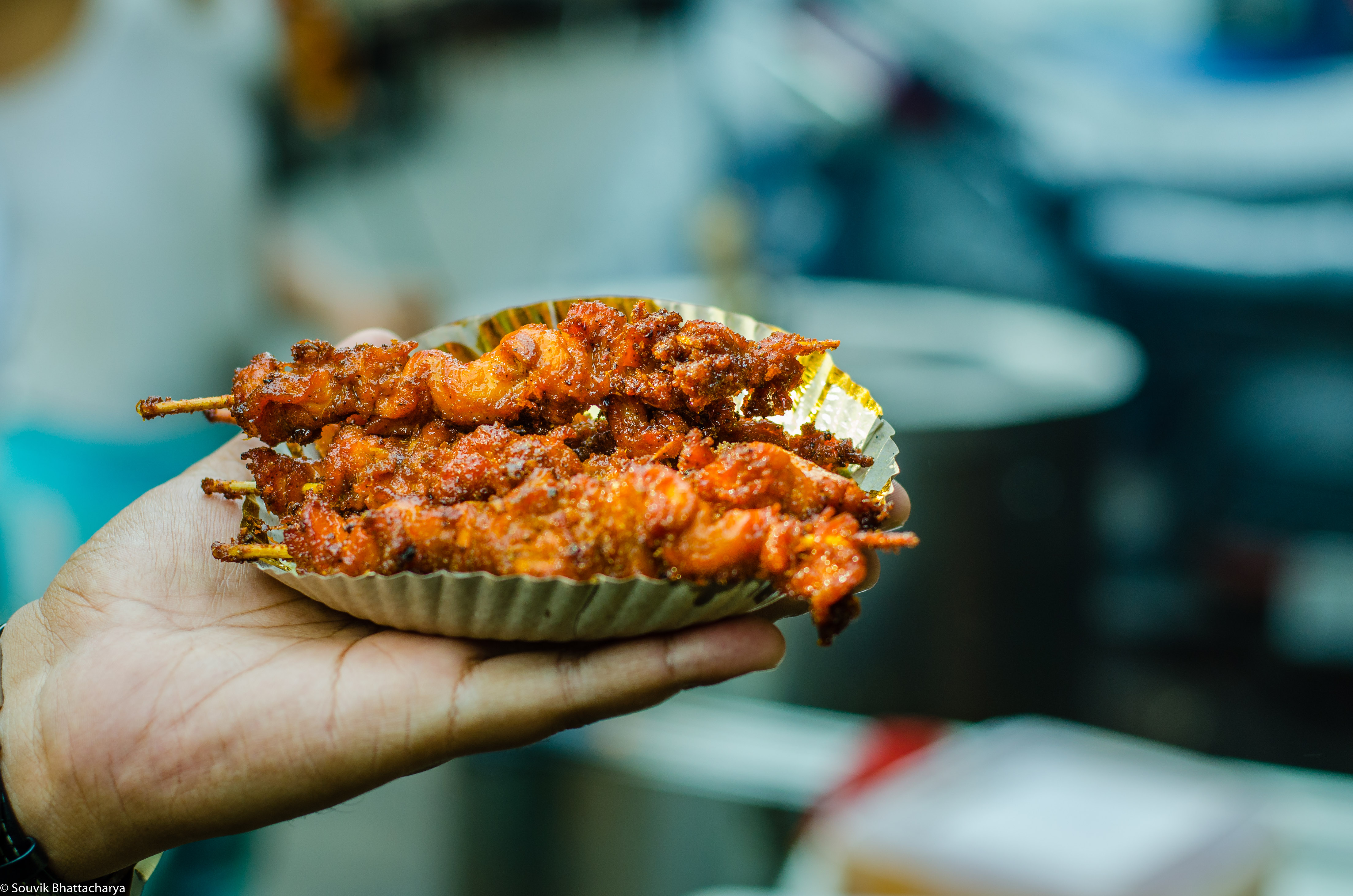Chicken Kathi Kabab, Zaiqa-E-Dilli, Zakaria Street