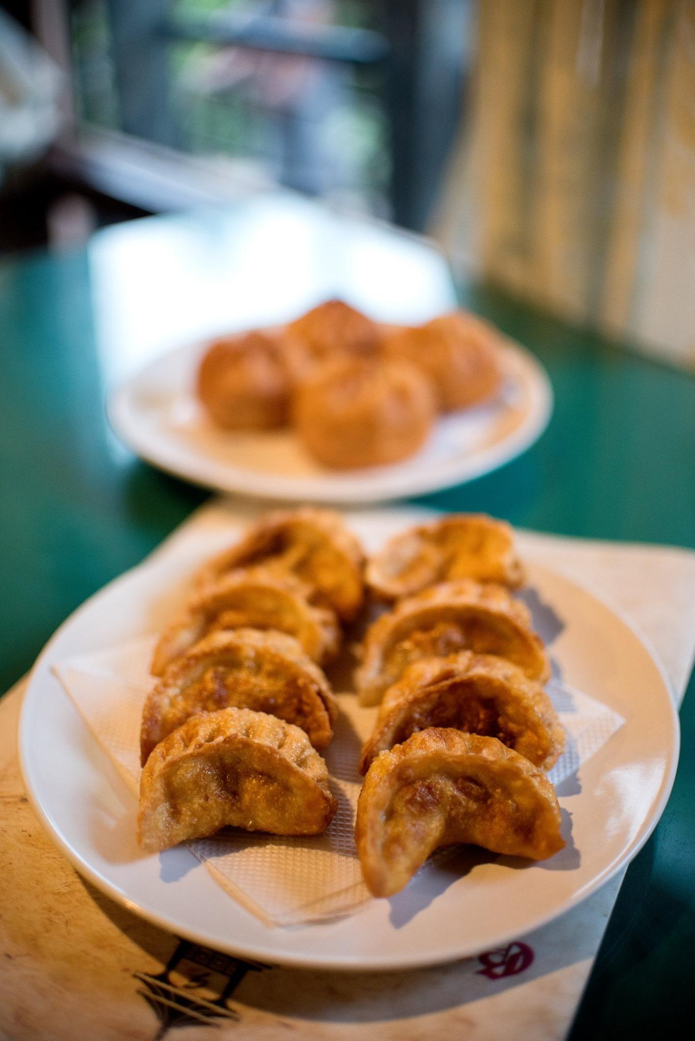 Fried Chicken Momo, Gompu's Hotel, Kalimpong