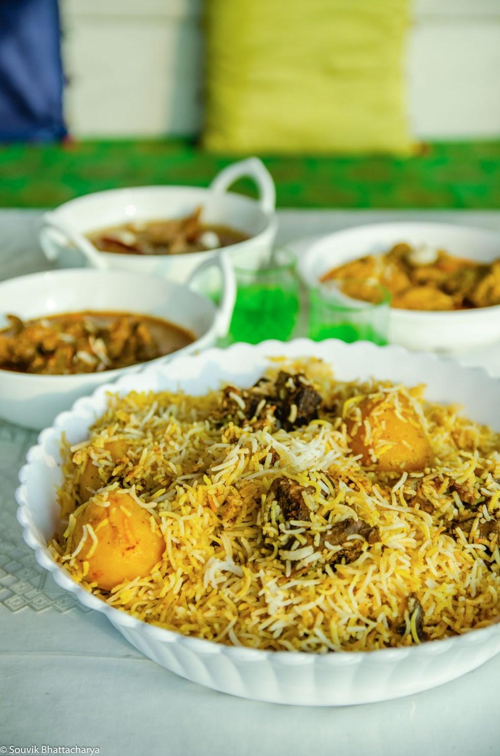 Mutton Biryani - Manzilat's Kolkata