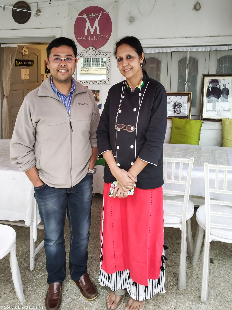 Manzilat Fatima at Manzilat's Kolkata