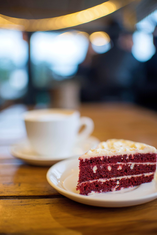Red Velvet Cake, Cafe Kalimpong, Kalimpong