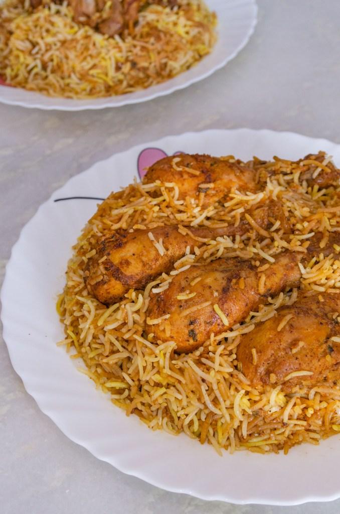 Special Chicken Biryani from Paradise Biryani Kolkata