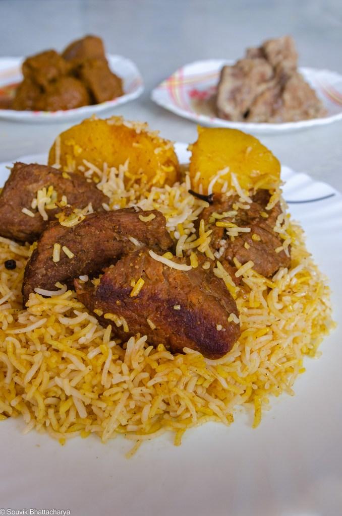 Beef Biryani at Zam Zam Kolkata