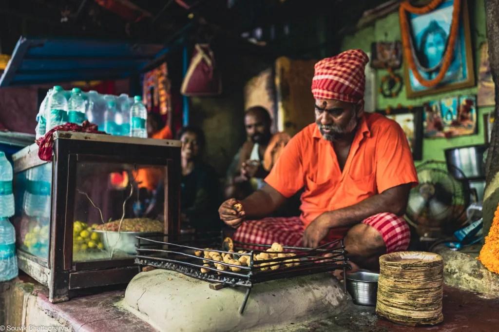 Kumartuli food - Bhoothnath Litti Chokha