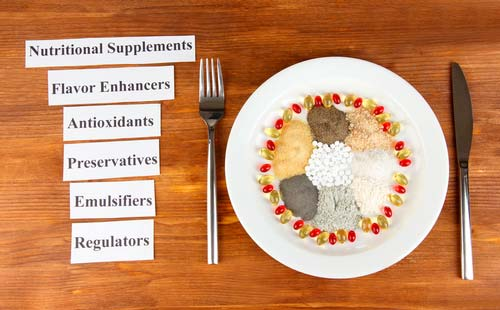 Food additives in relation to food allergy