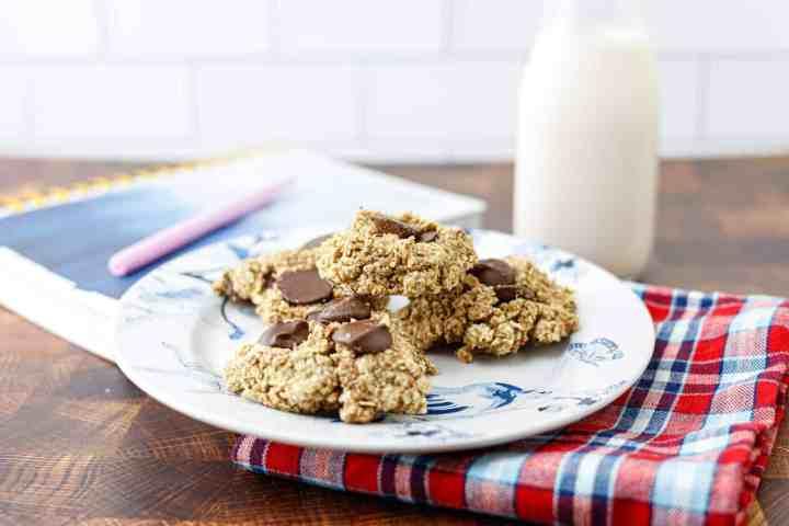 whole food plant based oatmeal cookies