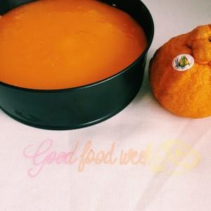 Recipe: GoodFoodWeek's choc mandarin cheesecake featuring Sumo mandarins