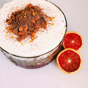 Recipe: Blood Orange Trifle