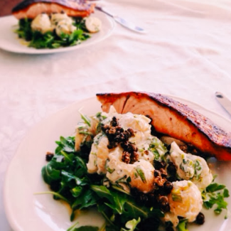 GoodFoodWeek's Salmon and Potatoes 'My Way' recipe