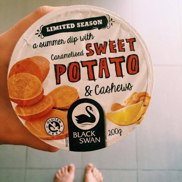 Caramelised Sweet Potato and Cashews dip from Black Swan