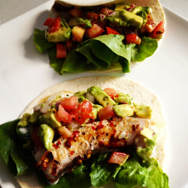 GoodFoodWeek's Lime Fish Tacos