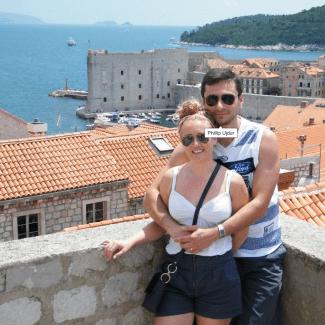 GoodFoodWeek on her honeymoon