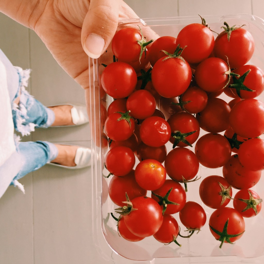 Cherry tomatoes from the EPIC farmers market