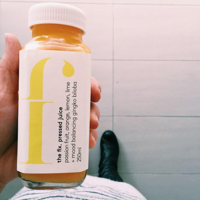 The Fix - cold pressed juice
