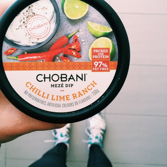 Savoury dips from Chobani