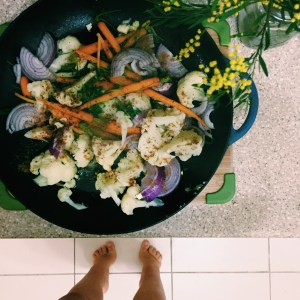 Recipe: Moroccan carrot and cauliflower salad