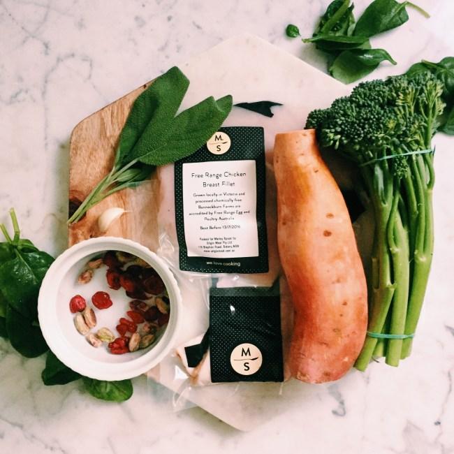 Marley Spoon ingredients