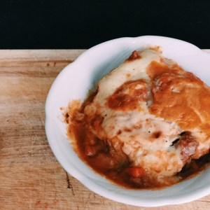 Recipe: gluten free moussaka and the perfect alternative for garlic bread