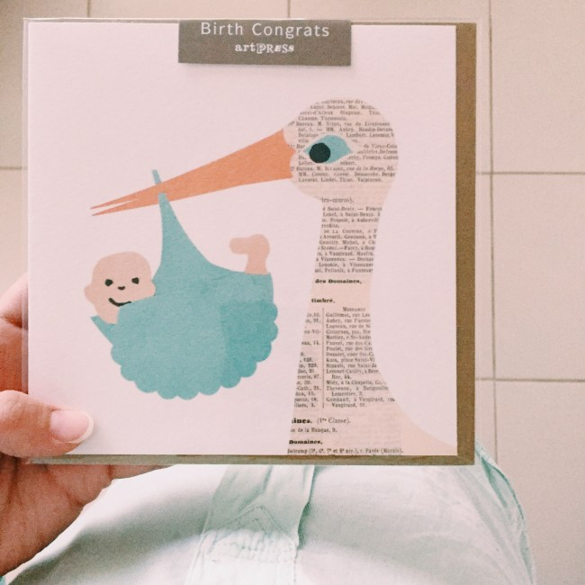 Cards to welcome baby boys