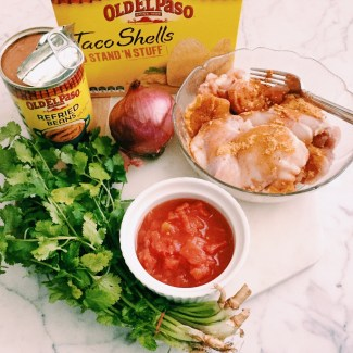 GoodFoodWeek's baked chicken taco