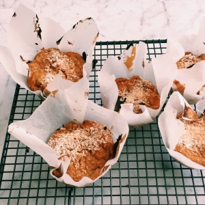 Recipe: Mango, banana and coconut muffins
