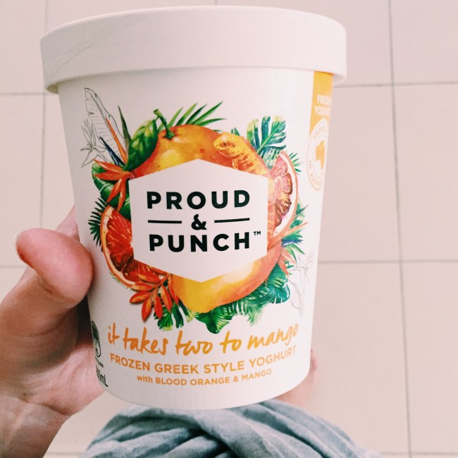 Proud & Punch greek yoghurt