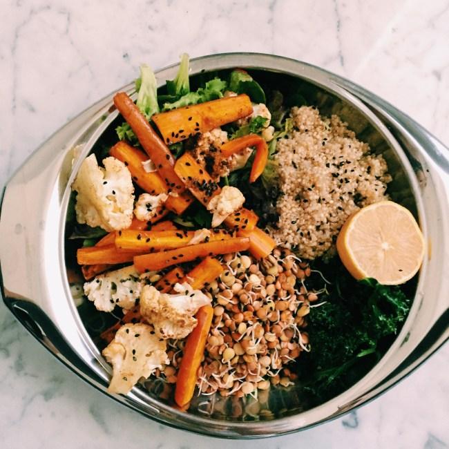 GoodFoodWeek's veggie bowl